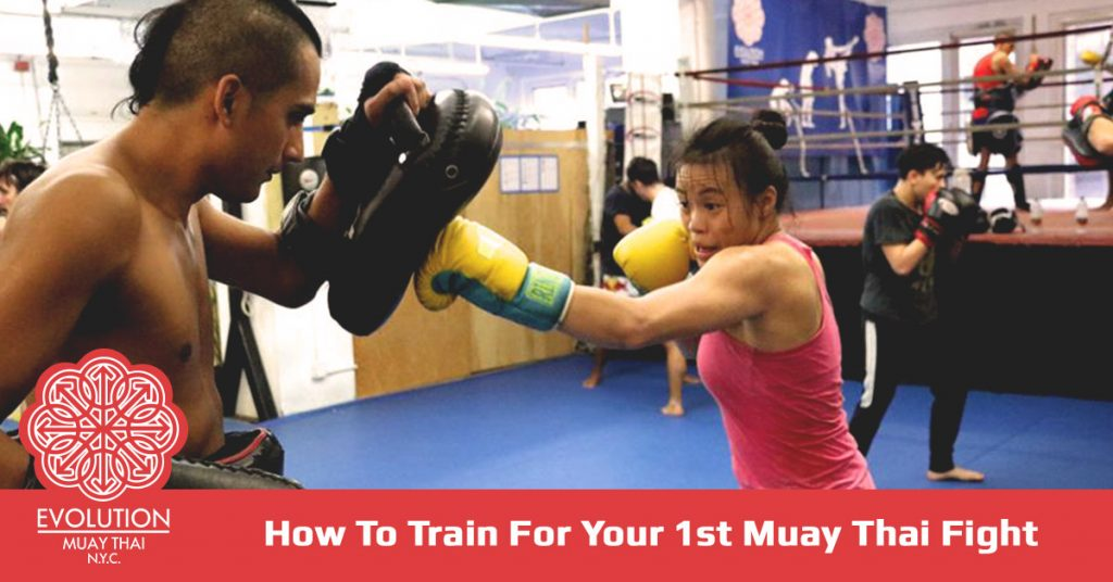 How To Train For Your 1st Muay Thai Fight